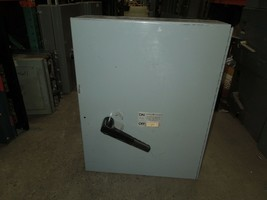 GE THFP368M 1200A 3P 600V Fused Panelboard Switch w/ Hardware Used - $5,250.00