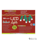 200L Pure White Holiday LED Lights - M5 Style - $54.87