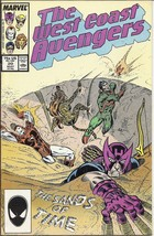 (CB-4) 1987 Marvel Comic Book: West Coast Avengers #20 - $2.50
