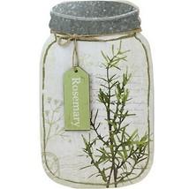 "Melrose 14.25"" Decorative Rosemary Herb Mason Jar Wall Hanging Plaque - €14,55 EUR"