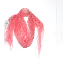 Calvin Klein Fringe Chambray Scarf Womens - $10.98