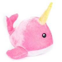 """Narwhal Pink Plush 6"""" Small Six Flags Stuffed Animal Toy - $11.74"""