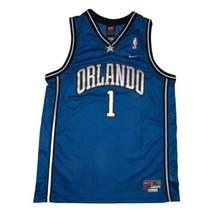 Tracy McGrady Youth XL Nike Swingman Basketball Jersey Orlando Magic Blu... - $28.04