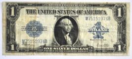 1923 $1 Silver Certificate Washington Large Note Fr#237 M75151974B - $59.39
