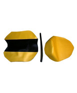 08-12 Ninja EX250 Scorpion Vinyl Motorcycle Seat Cover CF Black/CF Yellow - $78.00