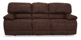 MYCO Furniture Concord Modern Driftwood Power Recliner Sofa - $1,650.00