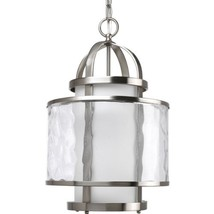 Progress Lighting P3701-09 1-Light Bay Court Foyer Fixture, Brushed Nickel - $4.193,03 MXN