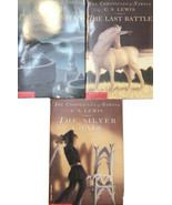 1995 C.S Lewis The Chronicles of NARNIA Paperback book Lot Of 3 - $12.35