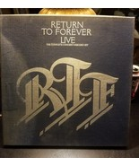 RETURN TO FOREVER Live: Complete Concert COLUMBIA  box set & booklet - $18.91