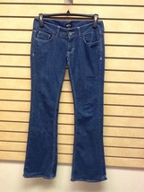 Vans Off The Wall Size 7 Medium Dark Boot Cut Jeans - $12.88