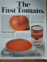 Campbell's Soup Tomato Soup Print Magazine Advertisement 1967 - $5.99