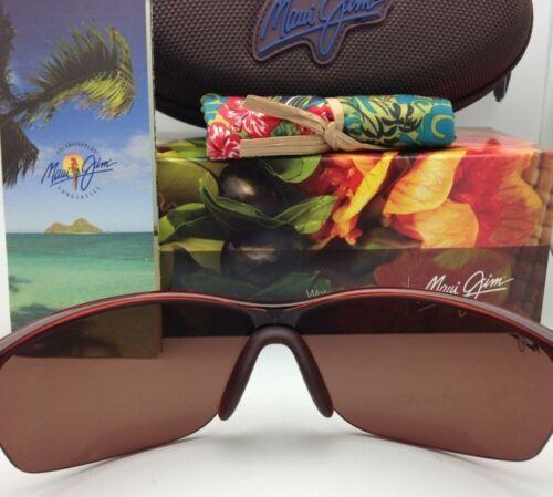 Nuevas Polarizadas Maui Jim Gafas de Sol Sexy Tierra Mj 426-26 Rootbeer Hcl image 4
