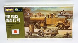 Vintage Oil Truck 1:72 Scale ISUZU TX-40 FUEL TRUCK Model Kit 716 - $15.00