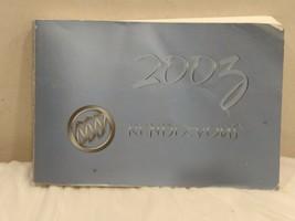 2003 BUICK RENDEZVOUS OWNERS MANUAL USER GUIDE OEM - $14.97