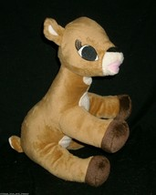 """12"""" 2008 COMMONWEALTH RUDOLPH RED NOSED REINDEER CLARICE STUFFED ANIMAL ... - $14.03"""