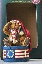 "Boyds Bearstone Ornament ""Yankee Doodlebear"" #257048LB-LE -NIB-2002 -Ret... - $29.99"