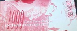 1999 United States Mint Uncirculated Coin Set  AA19-CNP6004 image 3