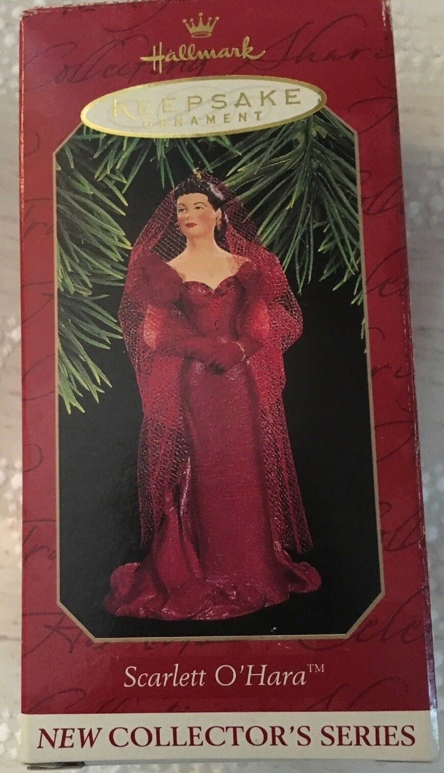 Hallmark SCARLETT O'HARA Ornament GONE WITH THE WIND with Box