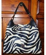 Dooney & Bourke Giraffe Print Large Leather Shoulder Bag - $95.00