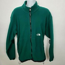 The North Face Fleece Jacket Men's Size XL Green Vented - $59.39