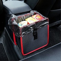 Geekercity Car Wastebasket Black Garbage Can Leak-proof Waterproof Auto ... - $21.84
