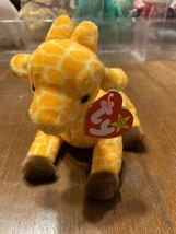 Twigs the Giraffe, Beanie Baby in perfect condition - $150.00
