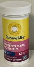 1 X  Renew Life Women's Care Probiotic 30 Capsules Each Exp 04/2022 - $10.99