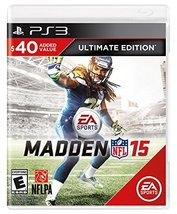 Madden NFL 15 (Ultimate Edition) - PlayStation 3 [PlayStation 3] - $8.60