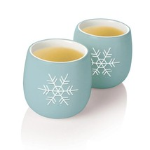 Tea Forte Amie Cups - Holiday Snowflake - 3 x 2 cups - $35.72