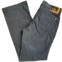 Mavi Jeans Size 31/32 Molly 136 Flare Cotton Denim Dark Gray EUC - $16.05