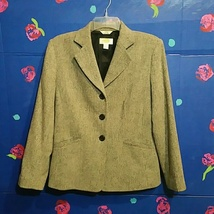 Talbots Petites Gray Blazer Size 8P - $24.99