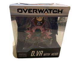 Overwatch D.Va with Meka Cute But Deadly Action Figure (Removable DVa, B... - $19.79