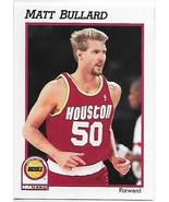 1991-92 Hoops #368 Matt Bullard NM-MT RC Rookie Rockets - $0.99