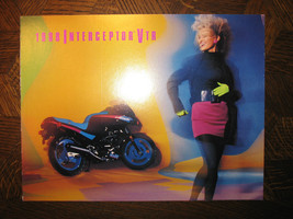 1988 Honda VTR250 Interceptor Nos Oem Dealer's Sales Brochure Vtr 250 88 - $35.88