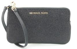 Michael Kors Wristlet Black Glitter RRP £110 - $82.07