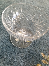 """Waterford 5.5"""" lead crystal pedestal candy dish - $99.99"""