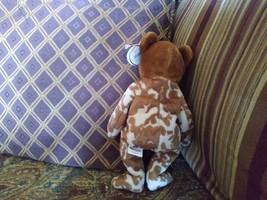 Ty Beanie Baby Hero Military UK Teddy Bear Stuffed Animal Plush image 3