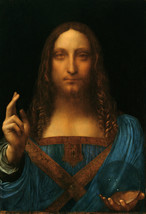 "Leonardo Da Vinci ""Salvator Mundi"" HD print on canvas huge wall picture ... - $25.73"
