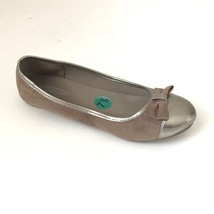 Seychelles Anthropologie Womens Ballet Flats Size 7.5 Brown Gold Shoes S... - $15.83