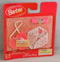 1998 Barbie Fashion Touches Heart Collection - Purse, Headband and Scarf - $5.99