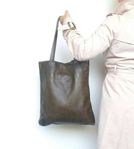 Women Leather Bag, Tote Purse, Fashion Shoulder Handbag, Yosy - $133.49