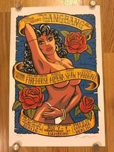MARCO ALMERA Original 2000 Print GANGBANG ART SHOWS Poster SIGNED NUMBER... - $399.00