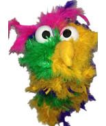 """C23 * Deluxe Custom """"Rainbow / Dark Pink Top Bird""""  Sock Puppet * Custom... - $10.00"""