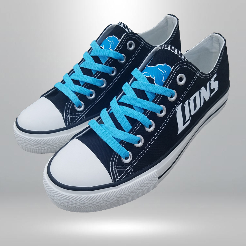 5daaeef34057 800062877301. 800062877301. Previous. lions shoes women lions sneakers  converse style detroit fans birthday gift