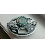 University of Miami Hurricanes Bottle Opener Belt Buckle - $21.85