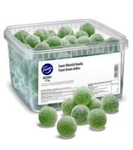 Fazer Green Jellies / Vihreitä Kuulia 2,2 kg - 4.8lb Finland - $54.44