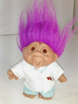"""2001 Totally Troll Playmates 5"""" Dolls Dr. Cornelius Care Toy Doctor Clothes - $15.95"""