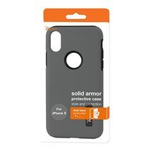 Reiko  Solid Armor Dual Layer Protective Case In Cell Phone Case for App... - $11.95