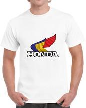 New T-shirt Men,s Honda White Short Sleeve S-3xl - $17.81