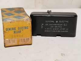 GE Relay 1057-R48 Relay Cat. WR-7X13 115VAC 1/8HP 3.2A - $99.99